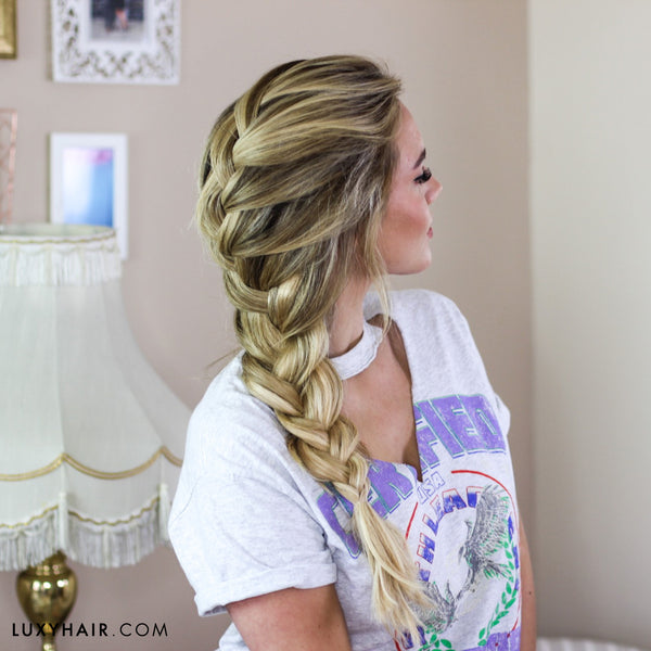 luxy hair back to school hairstyles easy