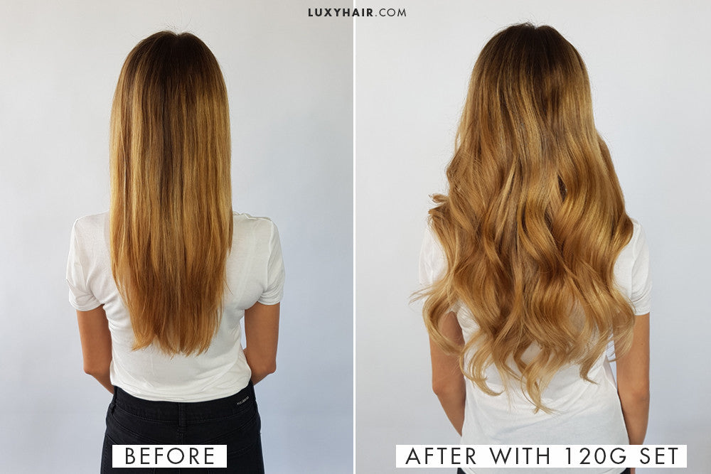 How to choose the right thickness of luxy hair extensions clip in hair extensions for thin hair pmusecretfo Image collections
