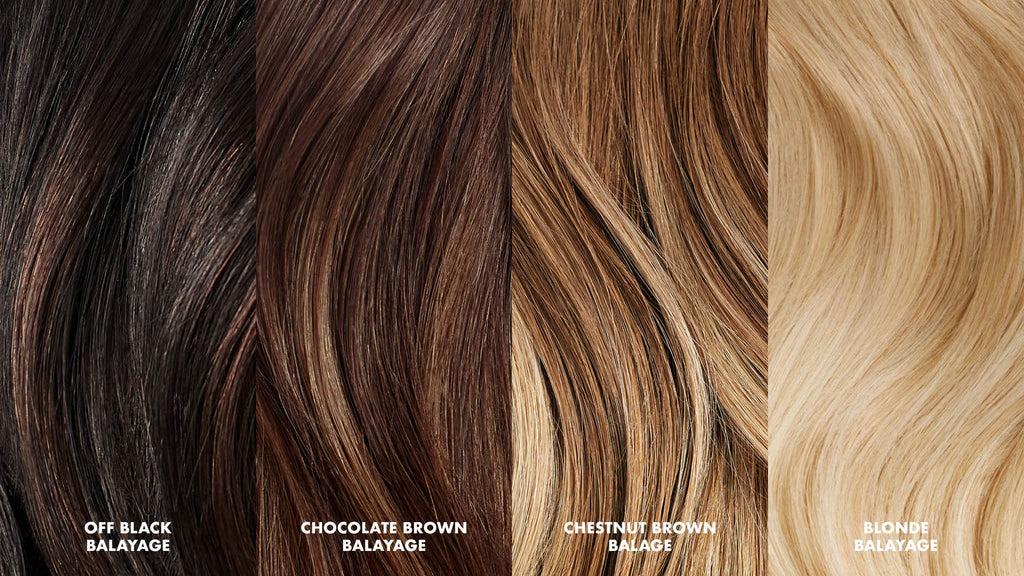 How Do I Choose The Right Color Of Balayage Extensions Luxy Hair