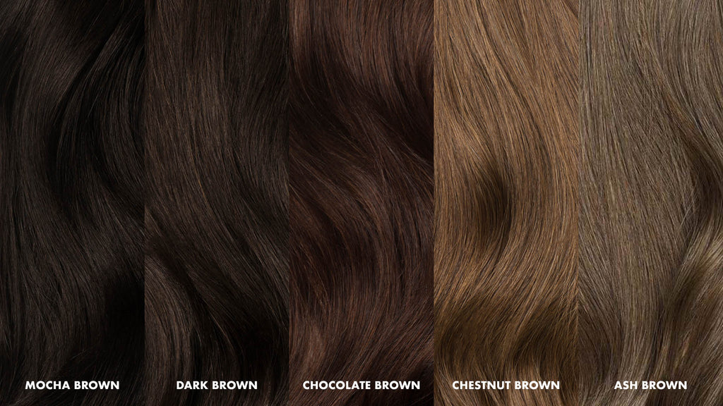 How Do I Choose The Right Color Of Brown Extensions