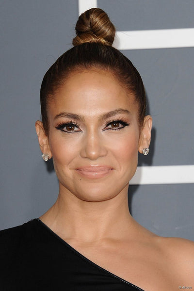 Jennifer Lopez top knot