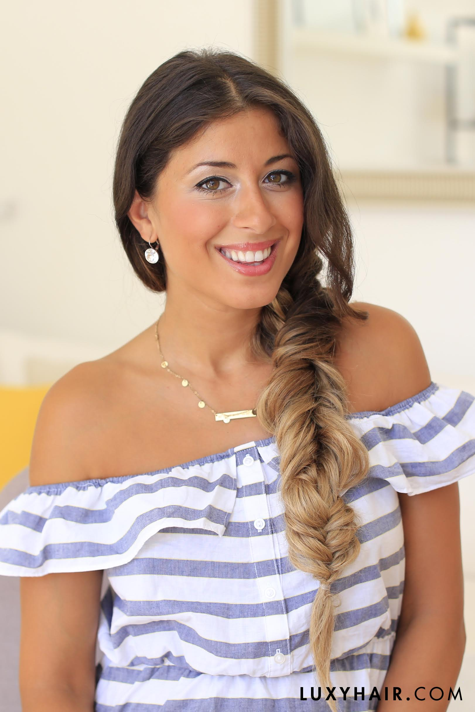 How To Do A Three Way Fishtail Braid