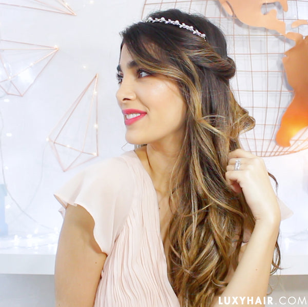 5 Hair Hacks To Get Ready Fast Holiday Edition Luxy Hair