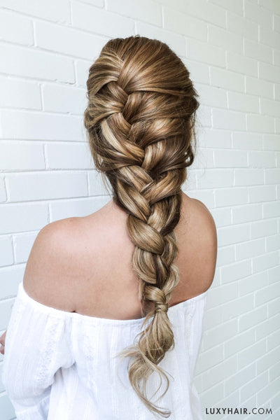 Back To School Hairstyles | Luxy Hair