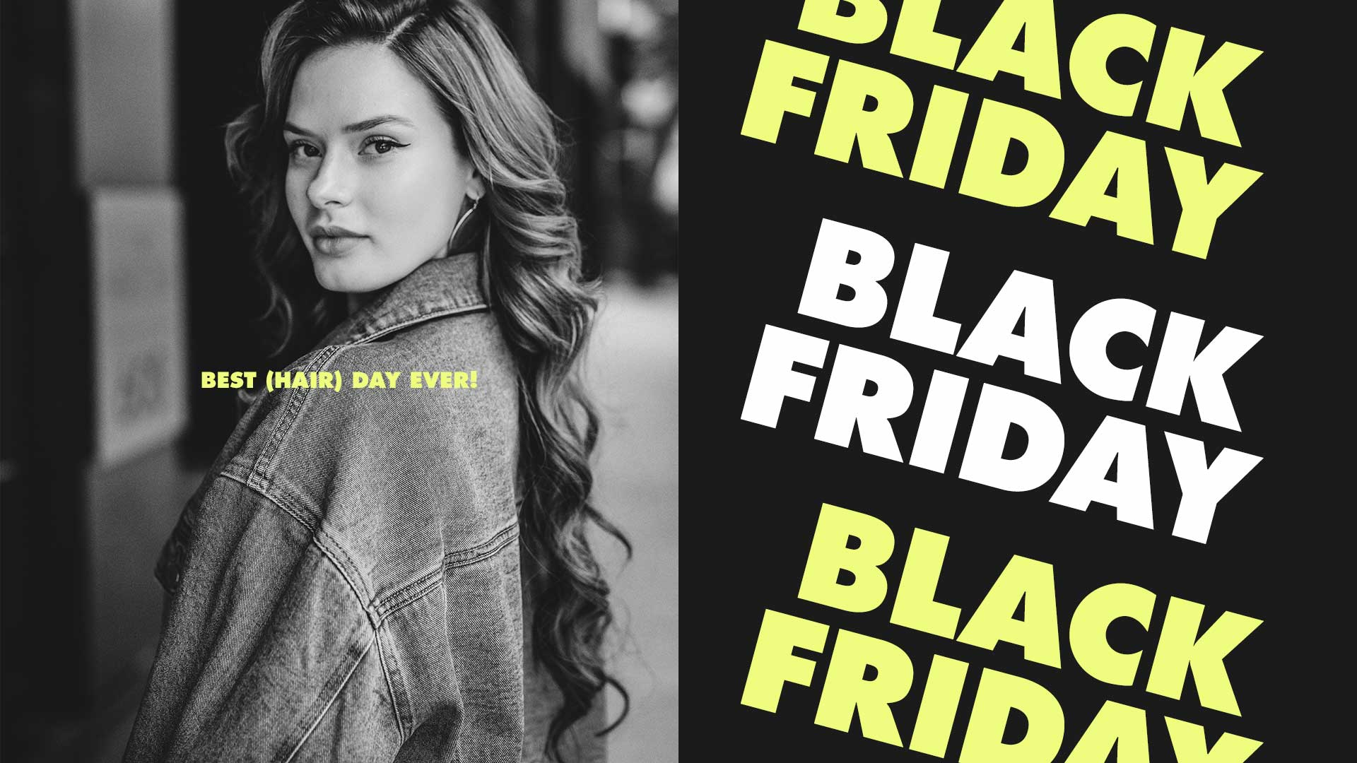 Black Friday Hair Extensions deals