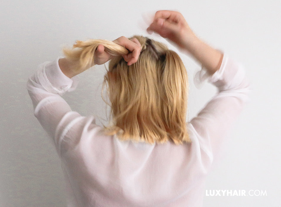 3 Easy Back To School Hairstyles For Short Hair Luxy Hair