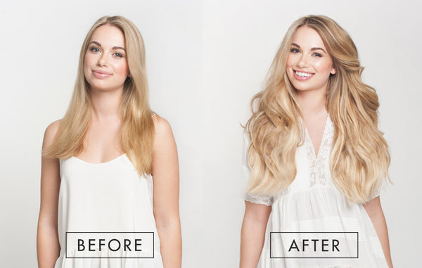 Seamless Luxy Hair extensions