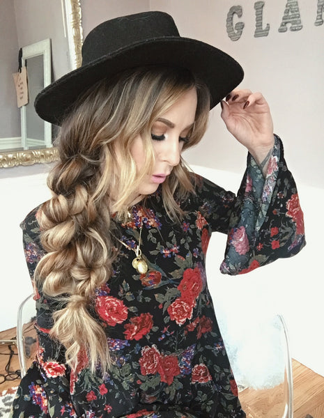 Boho Hairstyles: Boho Twist Braid | Luxy Hair
