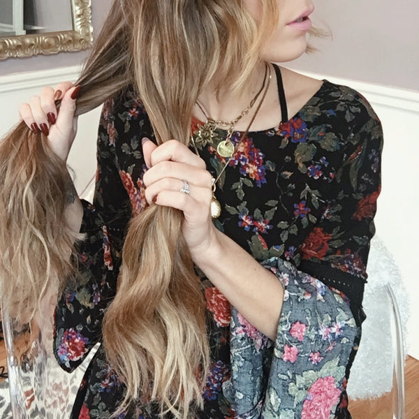 How to do a Boho Twist Braid with Luxy Hair