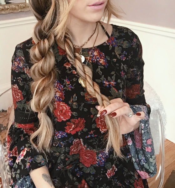 How to: Boho Twist Braid | Luxy Hair