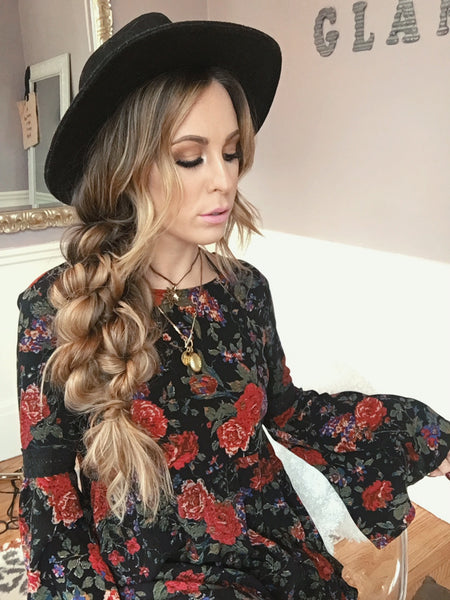 How To: Boho Braid Hairstyle | Luxy Hair