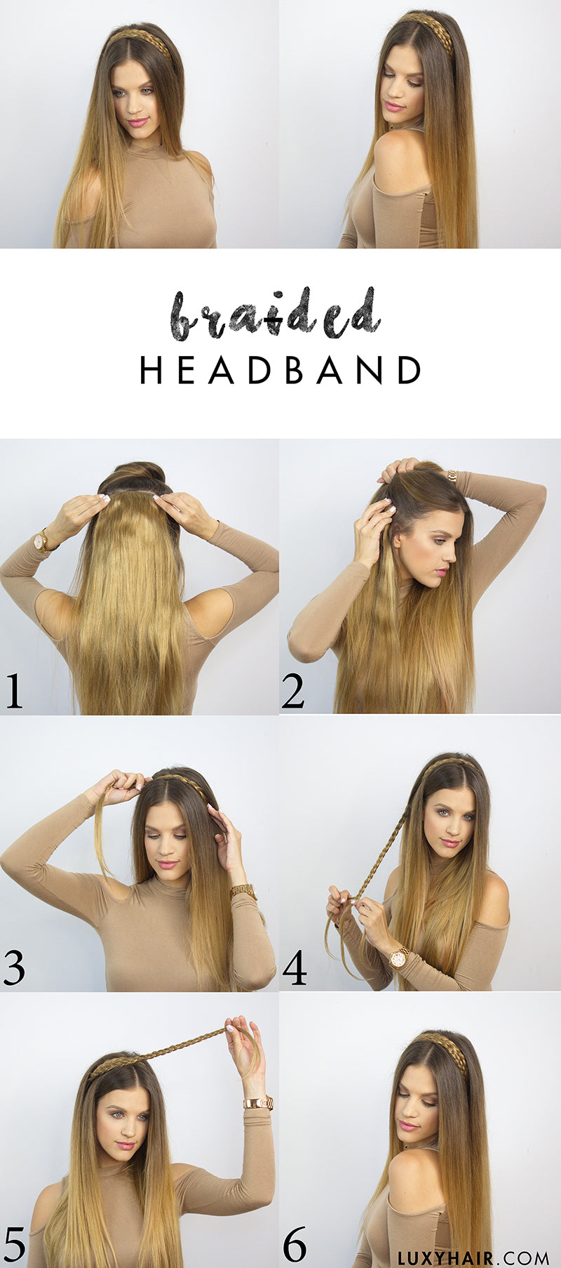 6 Heatless Back To School Hairstyles Luxy Hair