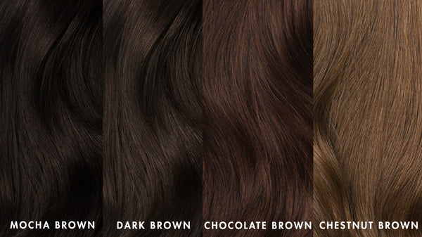 Luxy Hair: Brown shades