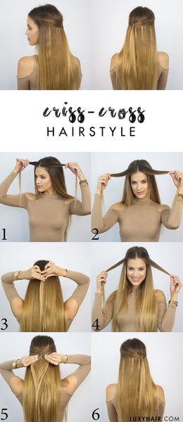 Easy Summer Hairstyle | Luxy Hair Blog