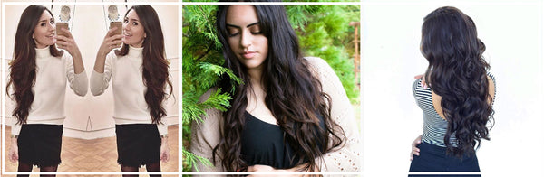 Luxy Hair How To Choose Your Perfect Shade Of Brown Clip In Hair