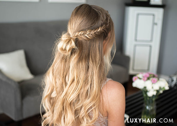 Easy Bohemian Prom Hairstyle