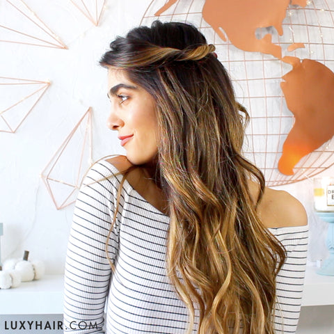10 Heatless Hairstyles for Fall with Haley\'s Corner – Luxy Hair