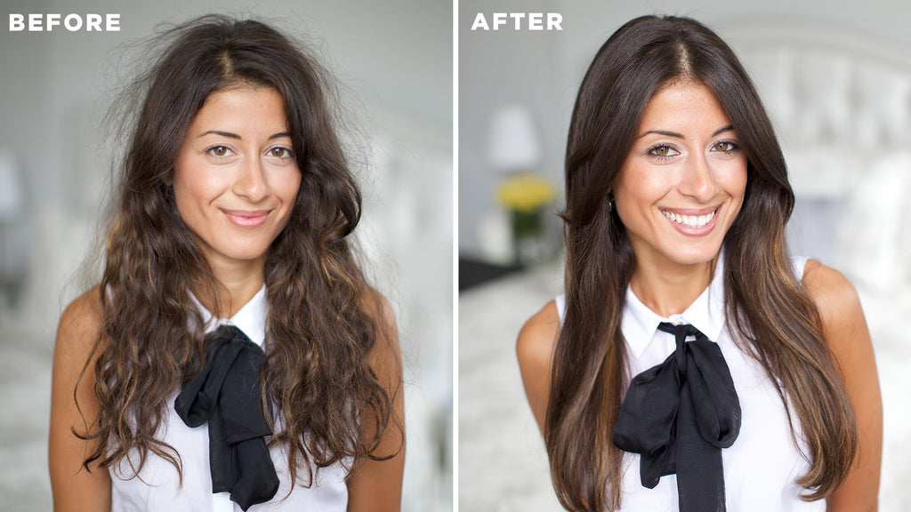 How to Tame Frizzy Hair: 5 Tips – Luxy Hair