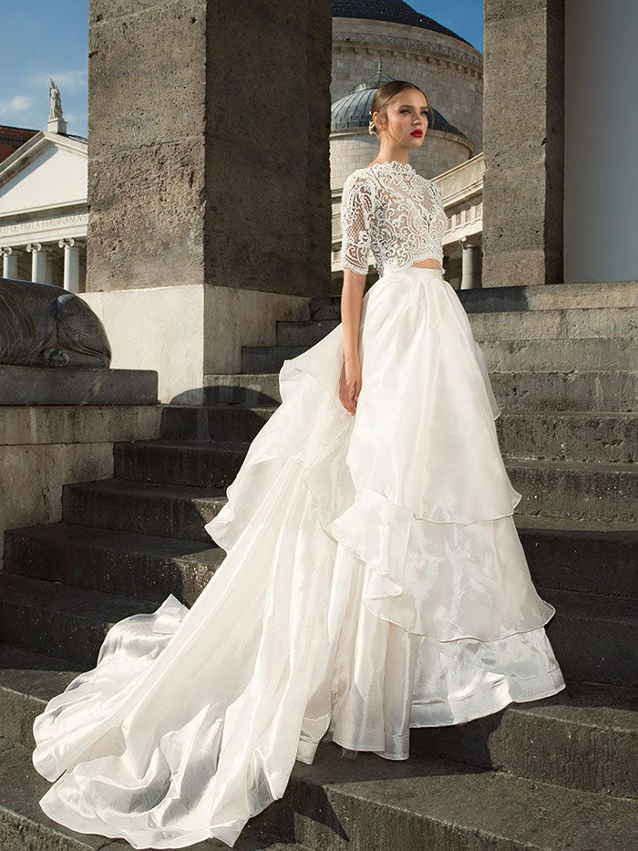 Julie Vino Glam bridal gown
