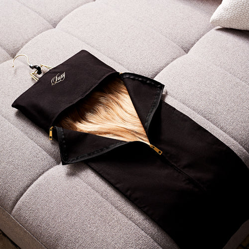 Hang, protect, and travel with the Luxy Hair Carrier -