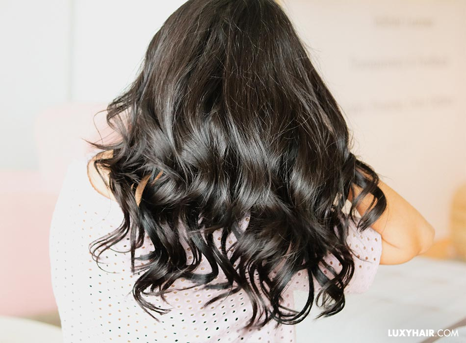 Hair extensions for volume