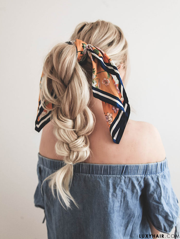 Hair scarf hairstyles