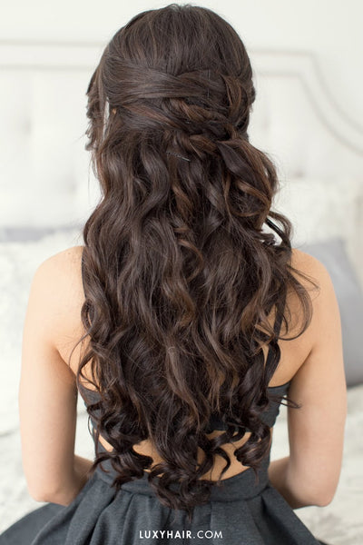 Hairstyles For Valentine's Day - Romantic Date Night Hair