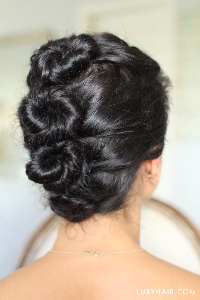 Easy Updo For Curly Hair