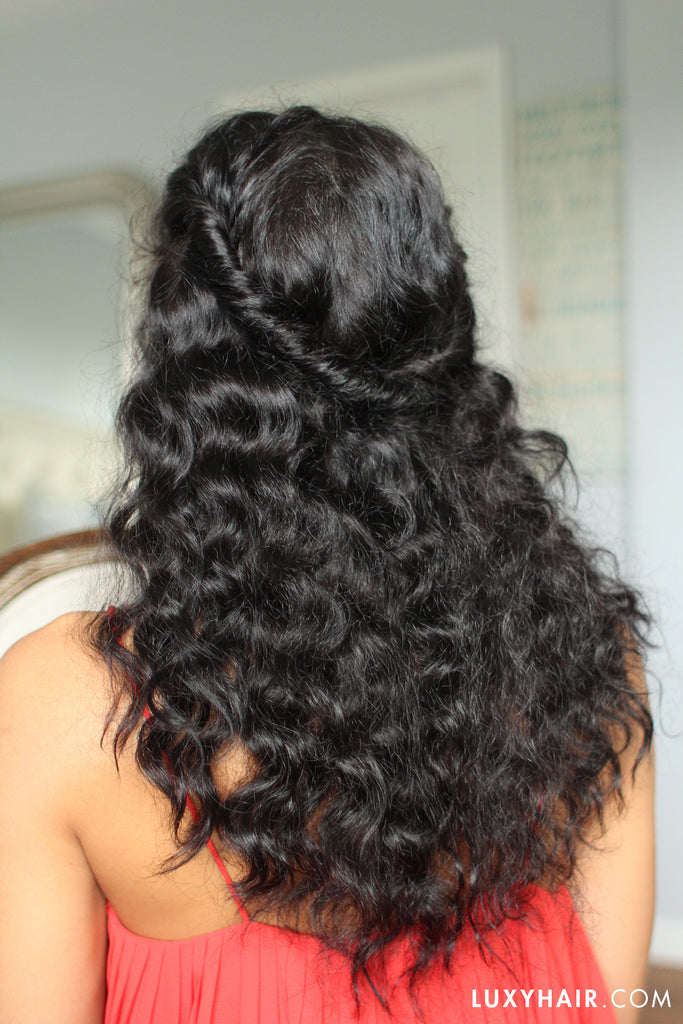 Easy Hairstyles For Curly Hair & Tips – Luxy Hair