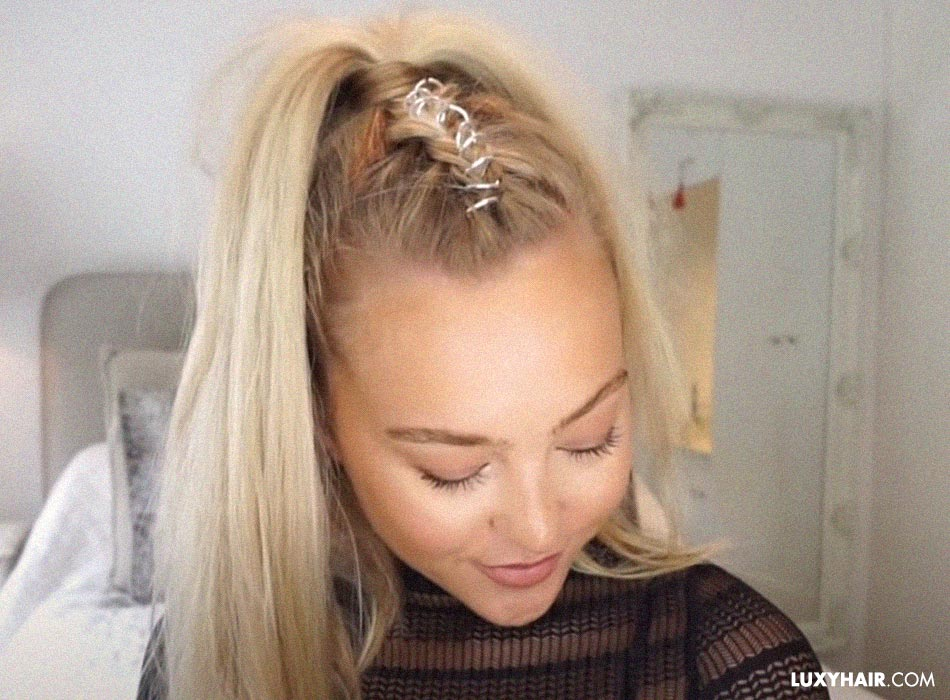 Hairstyles with hair rings