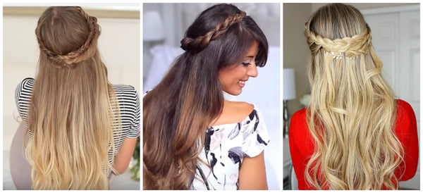 Best boho wedding hairstyles
