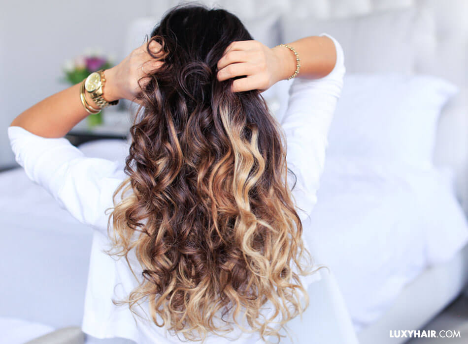 Heatless Curls How To Get Heatless Curls Waves Luxy Hair