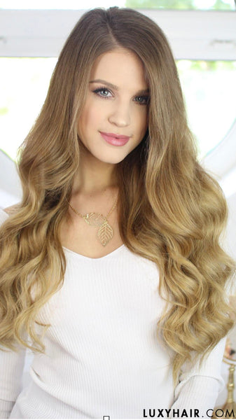 How to do sexy loose updos on long hair