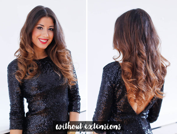 How to 5 minute holiday waves without extensions
