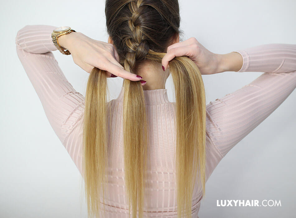 How to do a Dutch braid