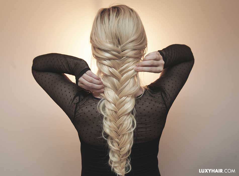 How to get longer, thicker braids instantly