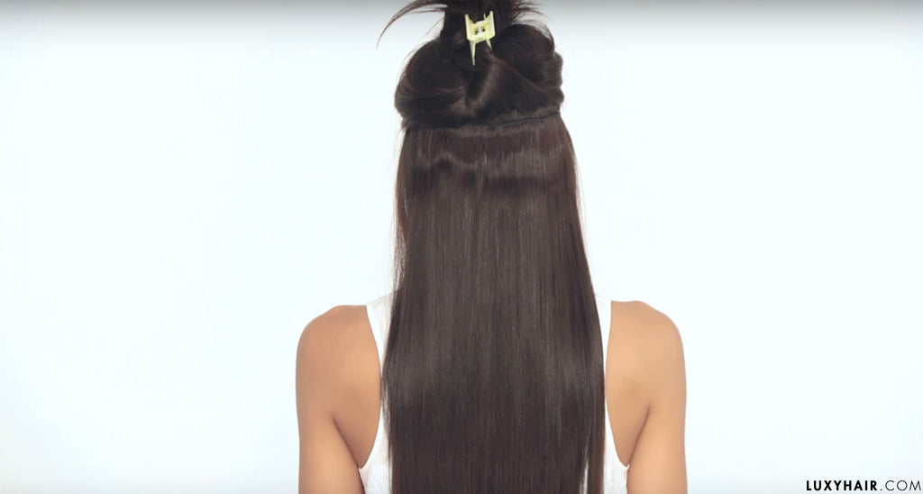 How To Clip In Hair Extensions