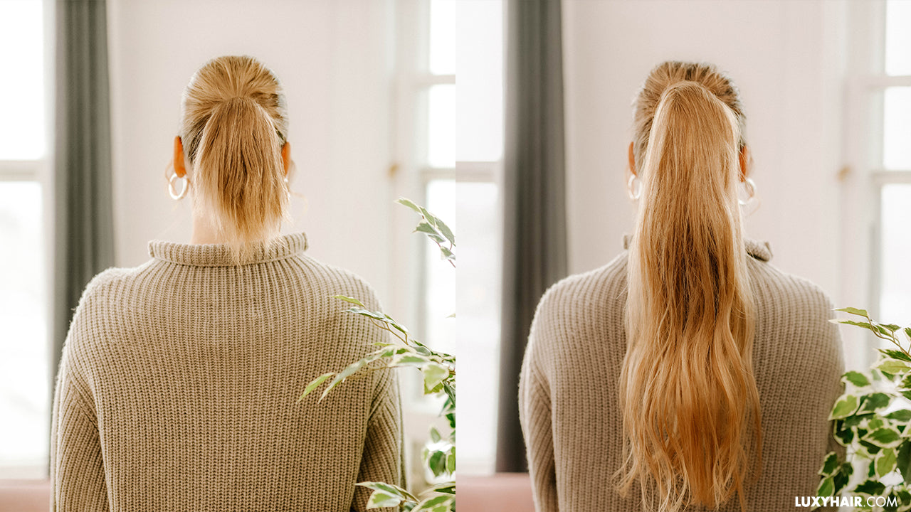 The ultimate guide to using Luxy Hair Ponytail Extensions