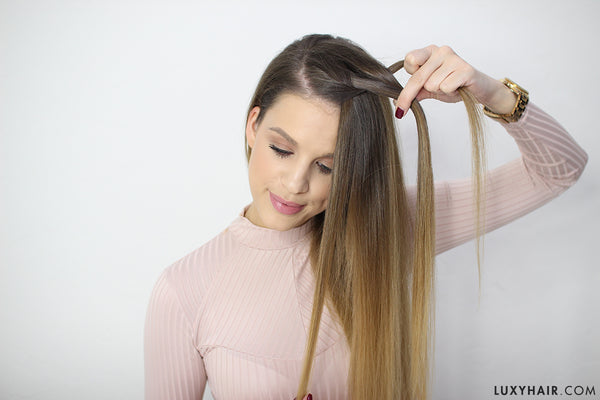 How to do a waterfall braid easy steps