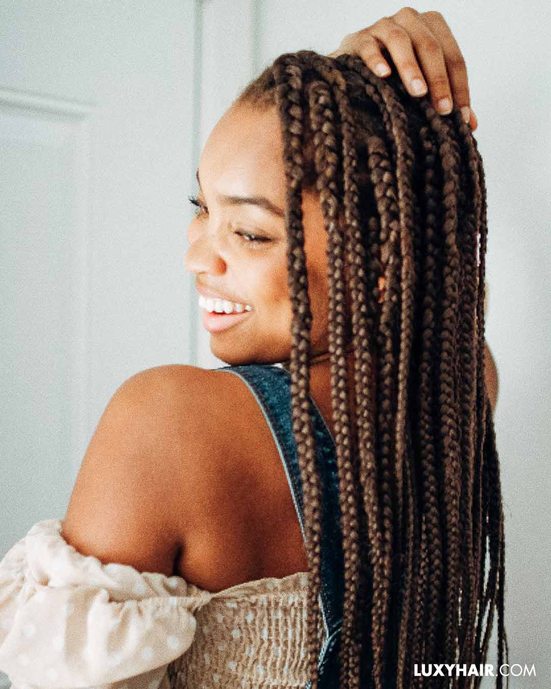 How to do box braids at home: a step by step guide