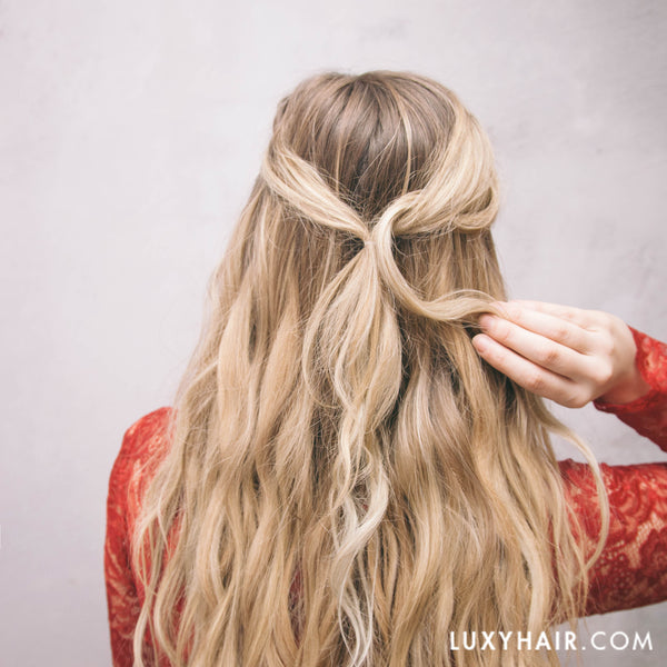 Valentines Day: Updos Hairstyles For Long Hair