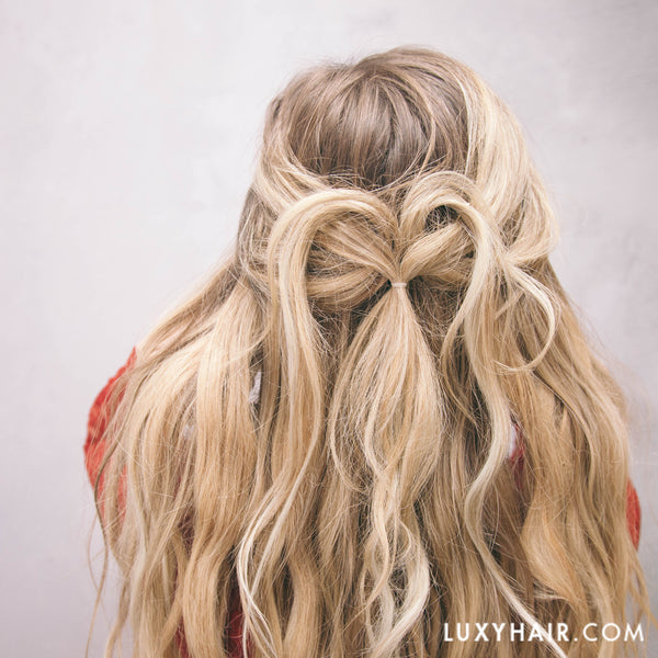 Valentines Day: Updo Hairstyles for Long Hair