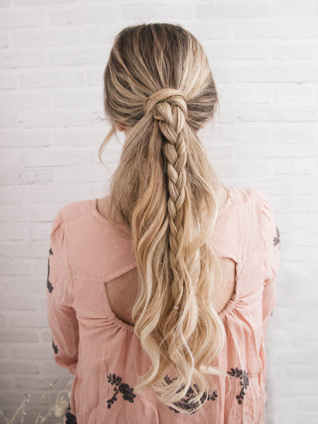 how to create a voluminous ponytail