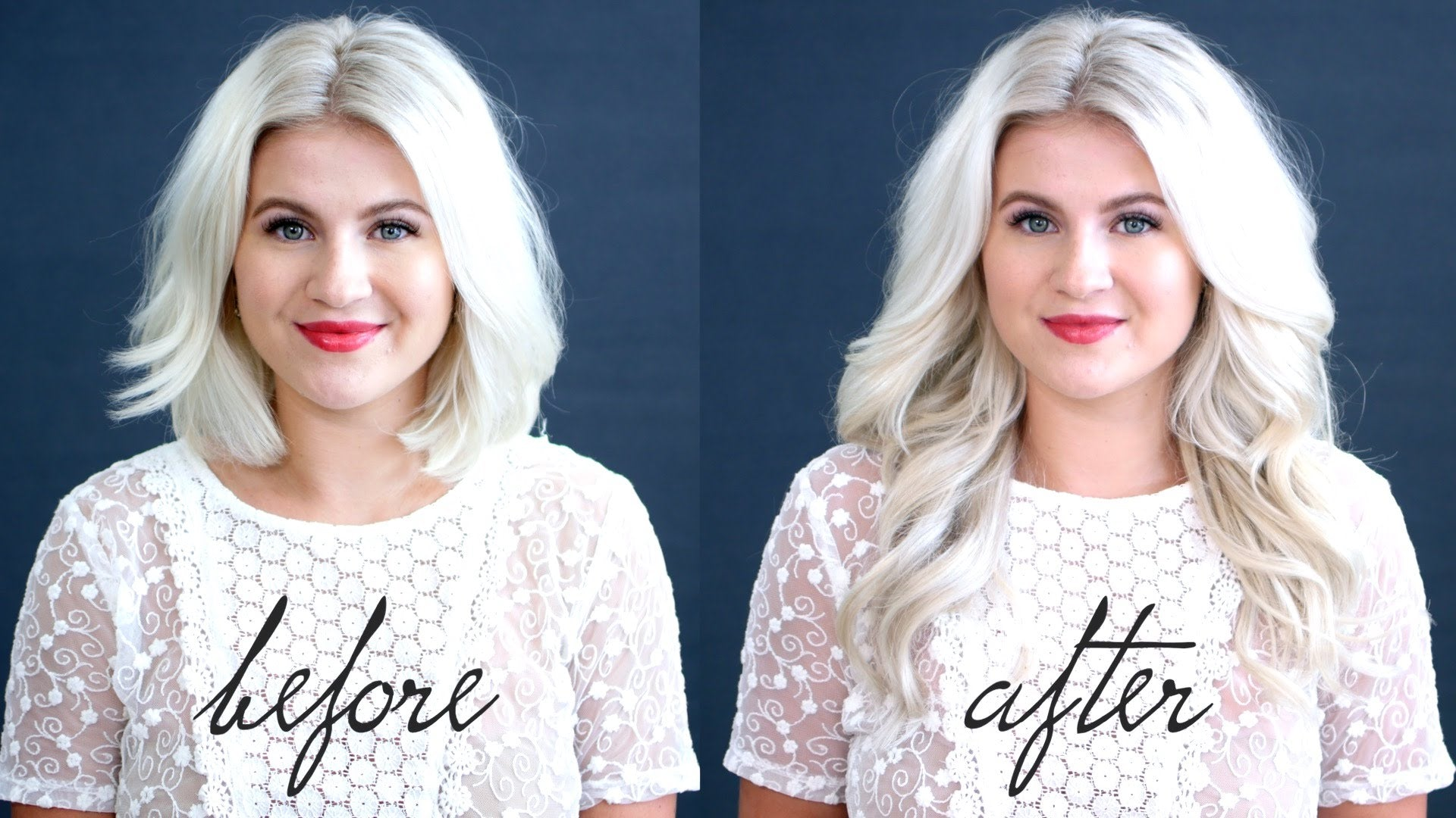 How To Blend Hair Extensions With Short Hair – Luxy Hair