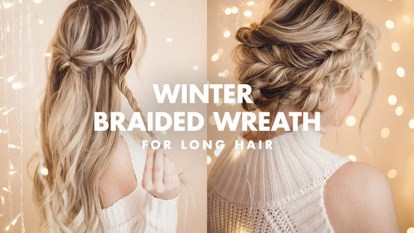braided winter updo