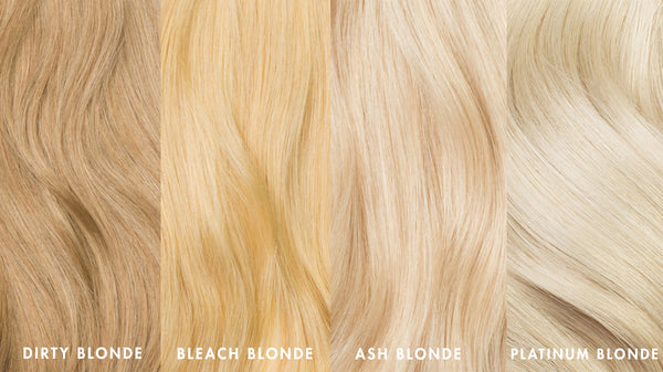 Luxy Hair Blonde Shades