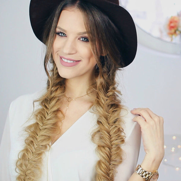 boho hair ideas for music festivals
