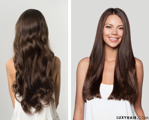 Luxy Hair Extensions: Chocolate Brown