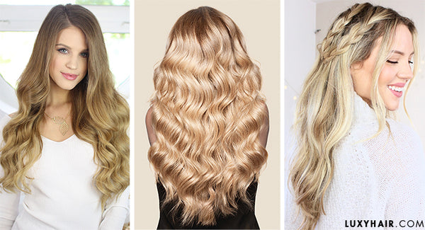 Luxy Hair Extensions: Dirty Blonde