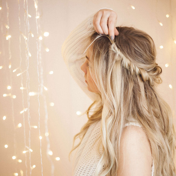 easy updo for long hair